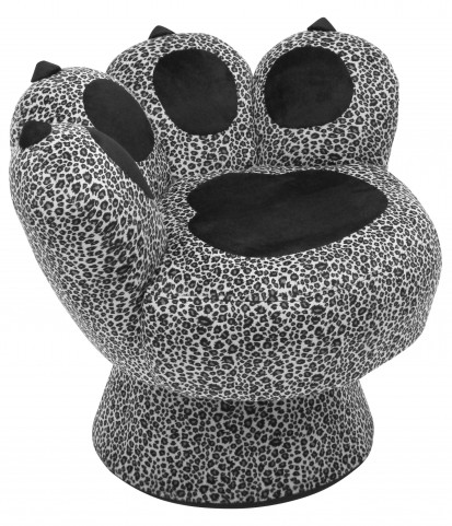 Paw Snow Leopard Chair
