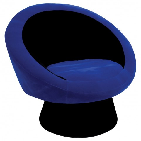 Saucer Blue Chair