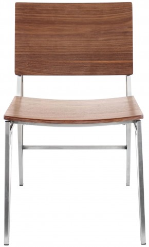Pair of Tetra Walnut Dining Chair