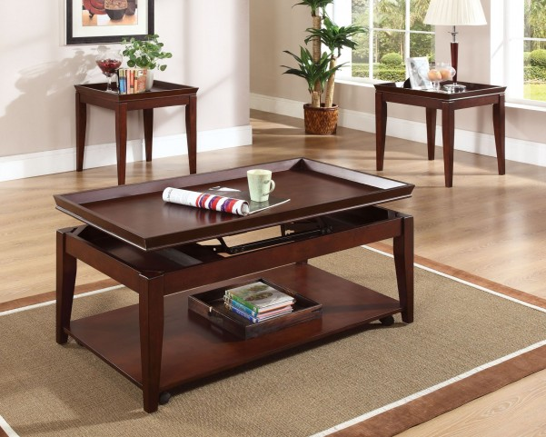 Clemens 3 Piece Occasional Table Set