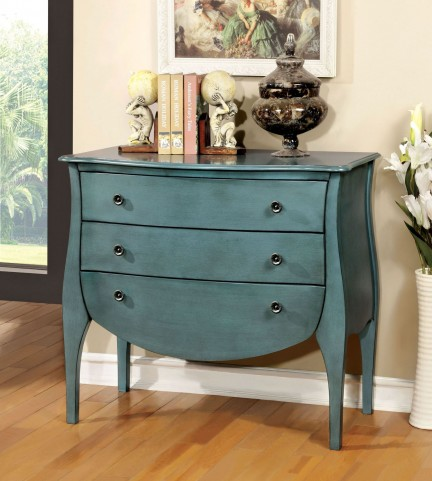 Havre Blue 3 Drawer Chest