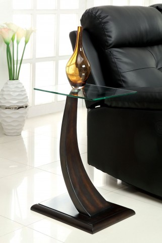 Valon Satin Plated Side Table
