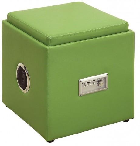 Armoni Green Ottoman