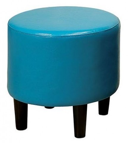 Nola Blue Ottoman