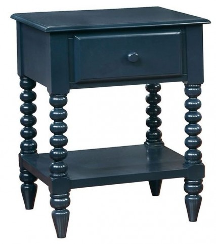 Lindsey Blue Nightstand