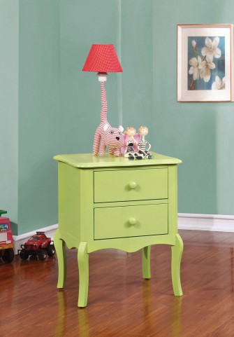 Lexie Apple Green Nightstand