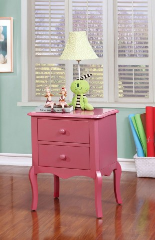 Lexie Pink Nightstand