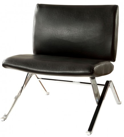 Shana Black Accent Chair