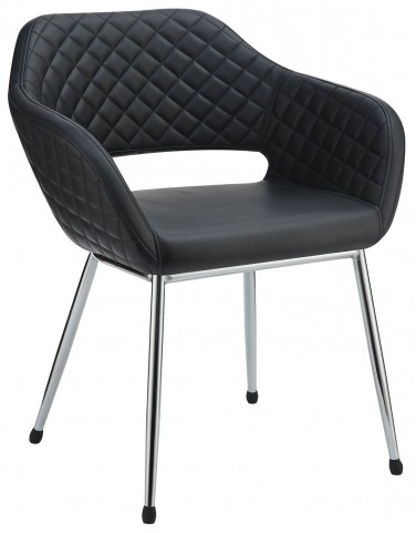 Tasha Black Accent Chair