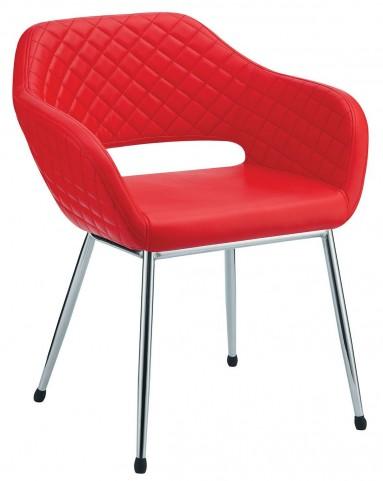 Tasha Red Accent Chair