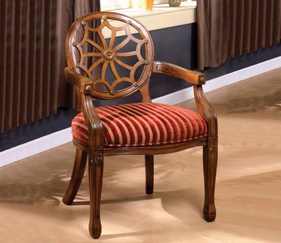 Edingurgh Antique Oak Accent Chair