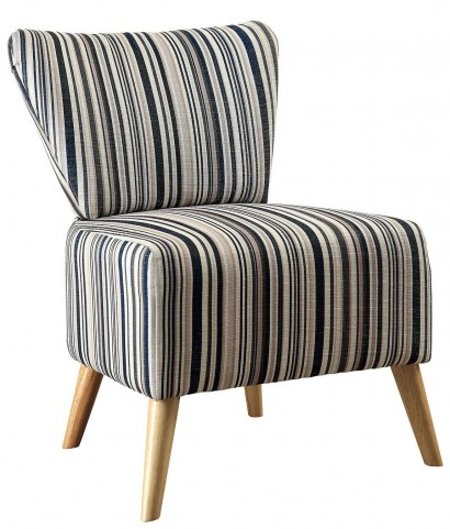 Mildred Stripe Pattern Accent Chair
