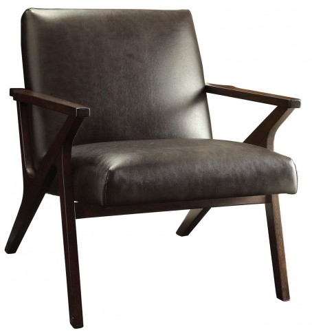 Margaux Brown Accent Chair