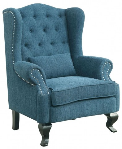 Willow Teal Accent Chair