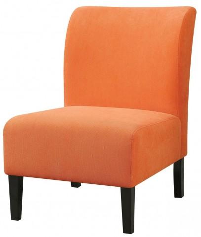 Bree Orange Accent Chair