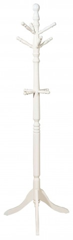 Prismo White Coatrack