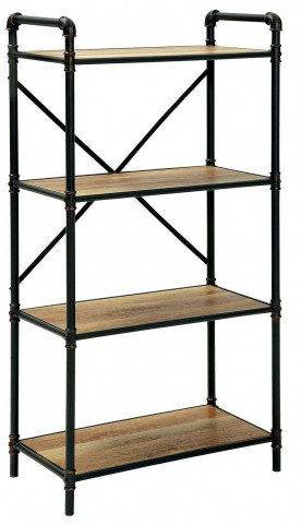 Olga I Antique Black Medium Display Shelf