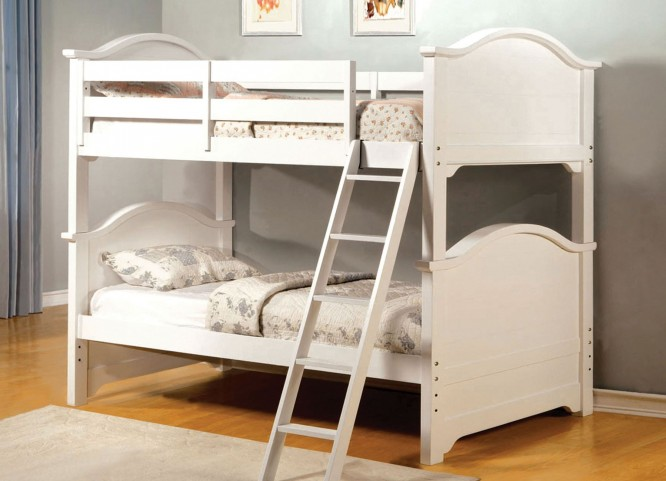 Chesapeake White Twin Over Twin Bunk Bed