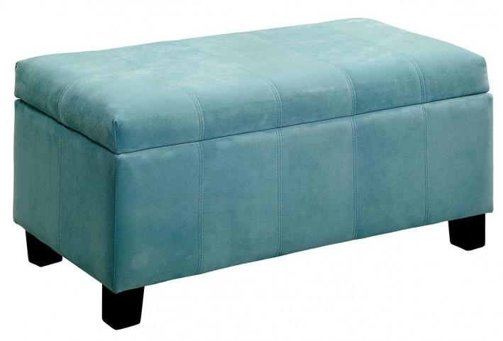 Remi Blue Ottoman
