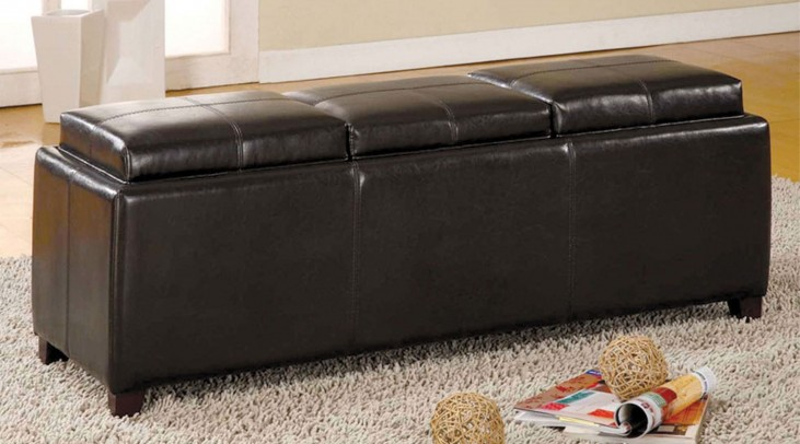 Norwich Tray Top Storage Ottoman