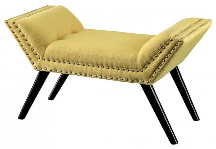 Wesby Yellow Bench