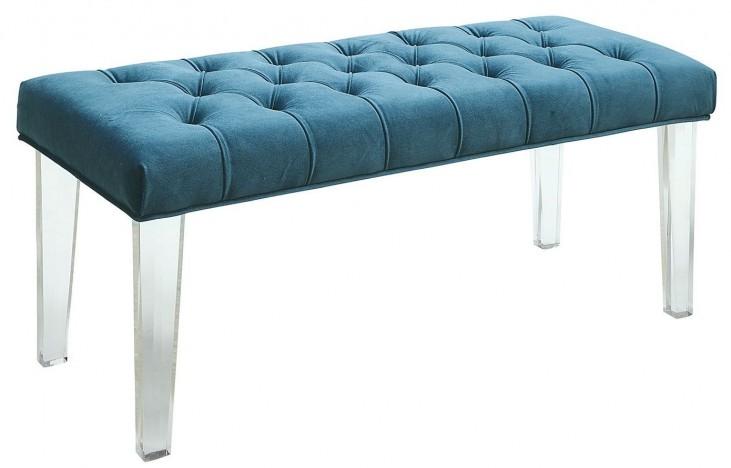 Mahony Blue Bench