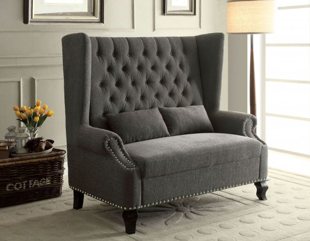Alcacer Gray Loveseat