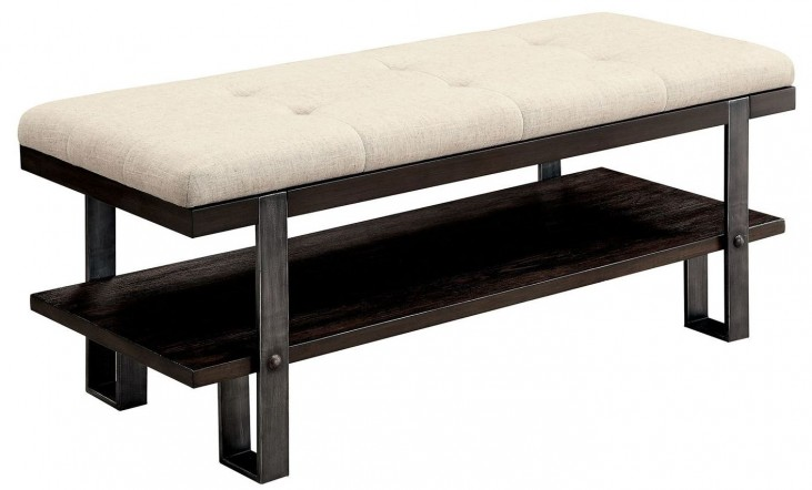 Aldor Dark Oak Bench
