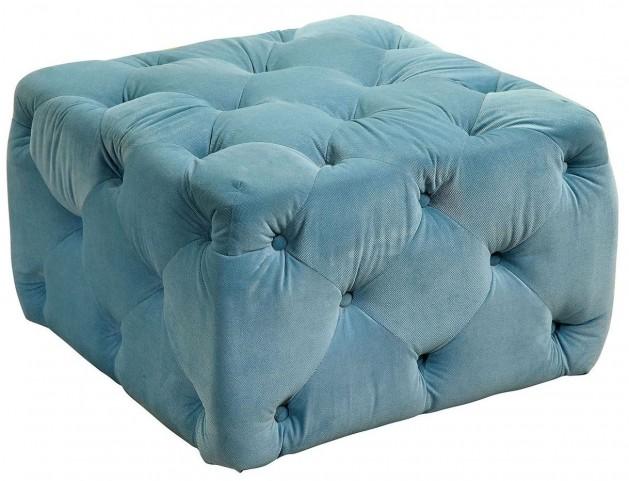 Sonja Blue Ottoman