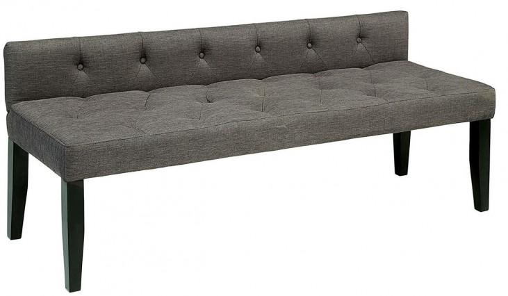 Leeroy III Gray Large Bench
