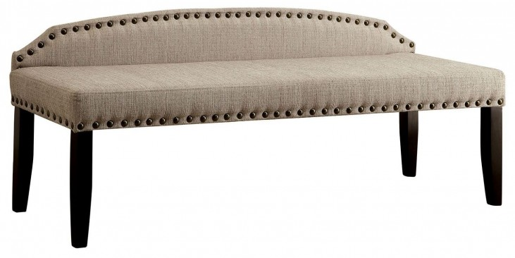 Hasselt Beige Large Bench