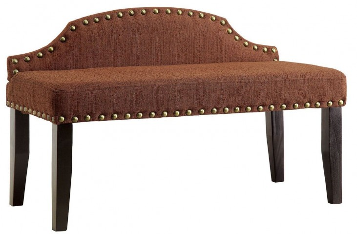 Hasselt Brown Small Bench