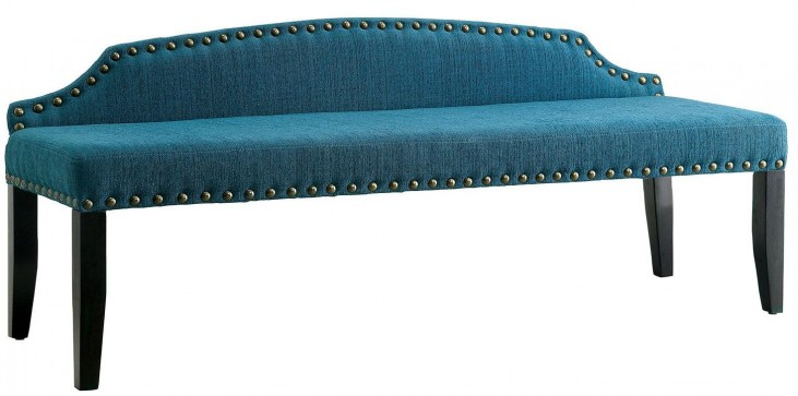 Hasselt Dark Teal Large Bench