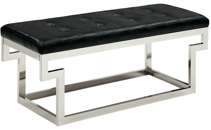 Enya Black Small Bench