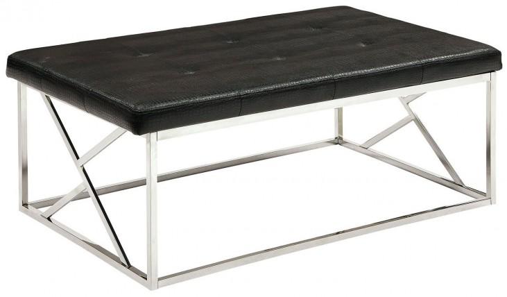 Mila Black Large Bench