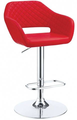 Odalis Red Bar Stool