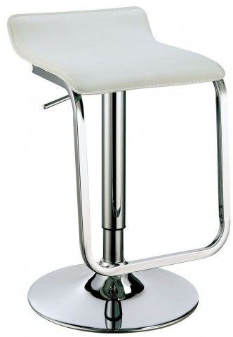 Tiegan White Bar Stool