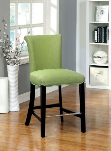 Fergus Green Bar Stool