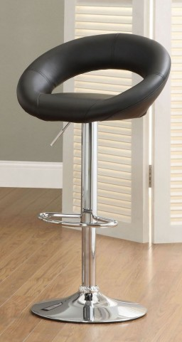 Numbi Black Bar Stool Set of 2