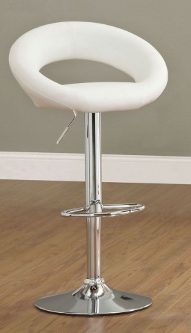 Numbi White Bar Stool Set of 2