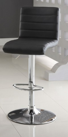Passore Black Bar Stool