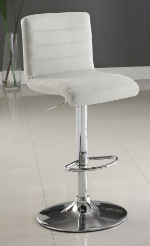 Passore White Bar Stool