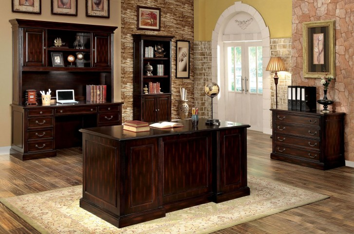 Coolidge Cherry Home Office Set