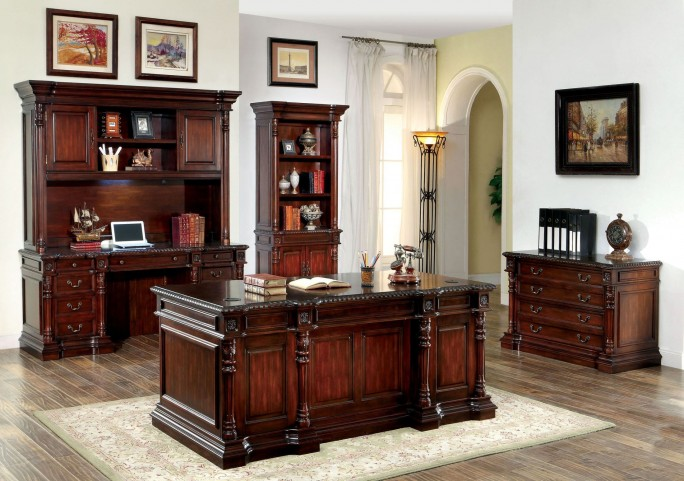 Roosevelt Cherry Home Office Set