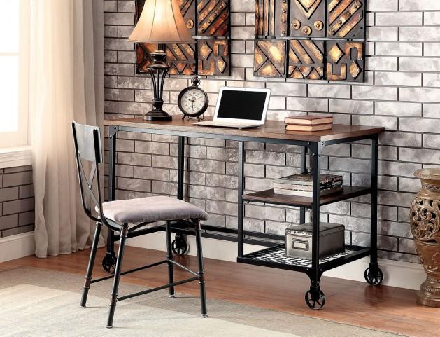 Cori Antique Black Desk