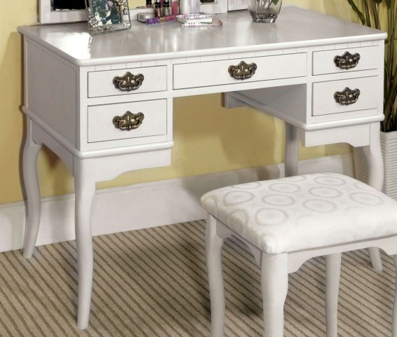 Ashland White Vanity Table