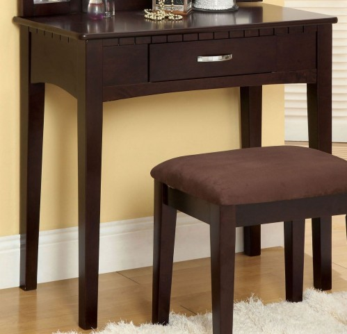 Potterville Espresso Vanity Table