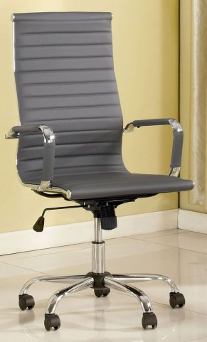 Barcelos Gray PU Large Office Chair