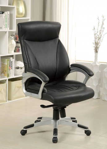 Orsik Top Grain Leather Match Office Chair