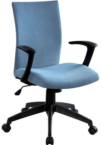 Crofter Blue Office Chair